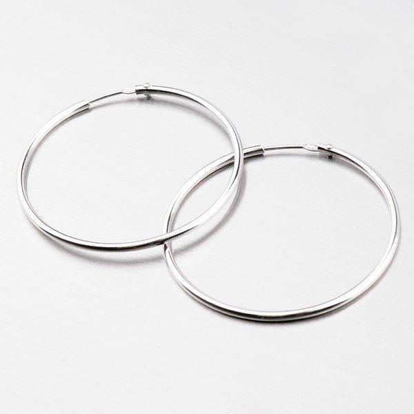 Kruhy ze stříbra 35 mm 6183-35
