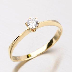 Dámský prsten se zirkonem DZ1877ZL