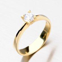 Krásný dámský prsten ze zlata DZ1895ZL