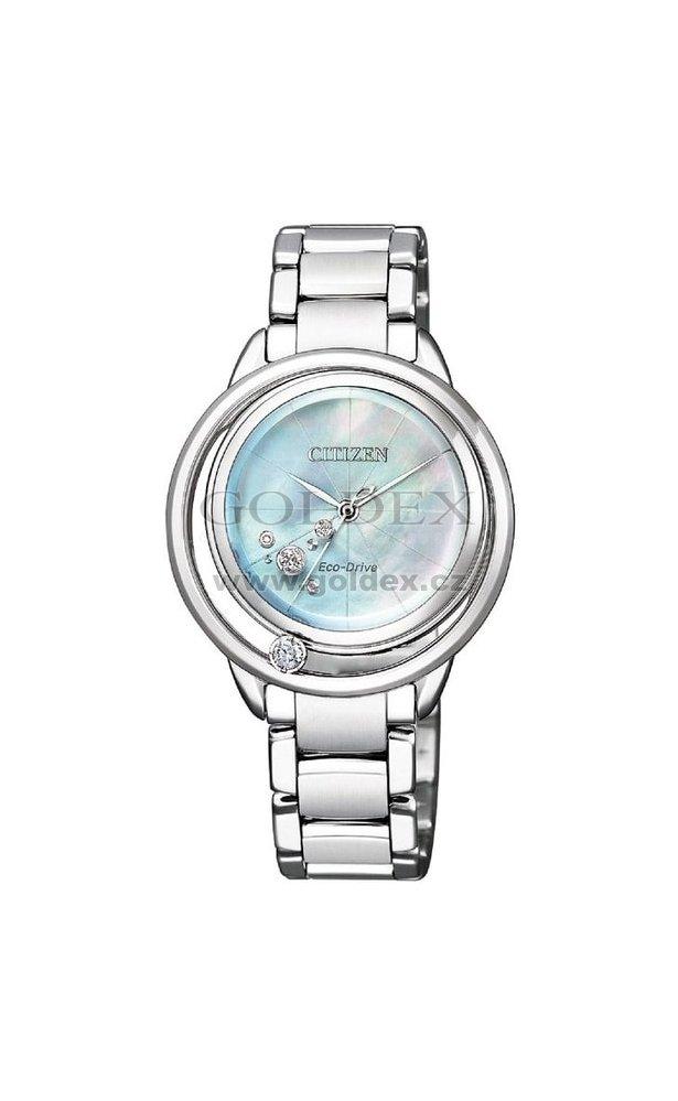 Dámské hodinky Citizen s diamanty EM0530-81D   Goldex.cz 7a1b2d3192
