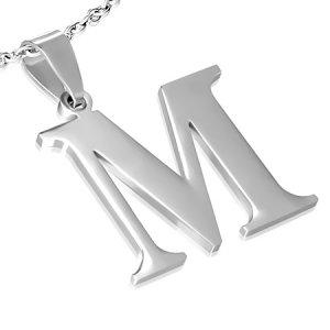 Ocelové písmenko M GPAC213