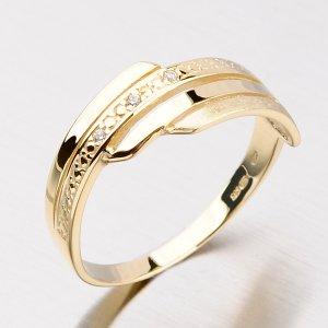 Prsten se zirkony DZ1844ZL