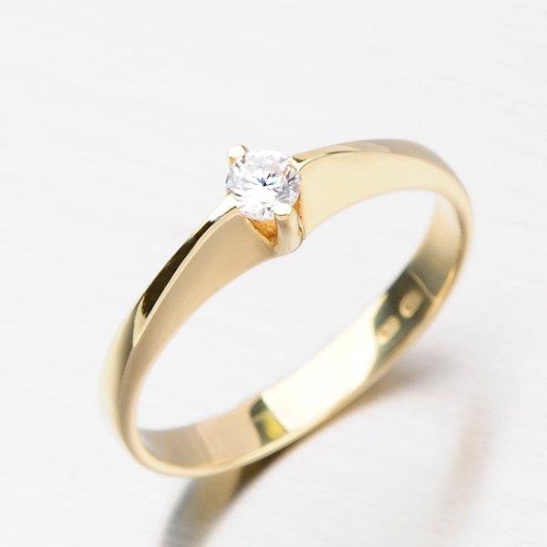 Krásný dámský prsten ze zlata DZ1956ZL