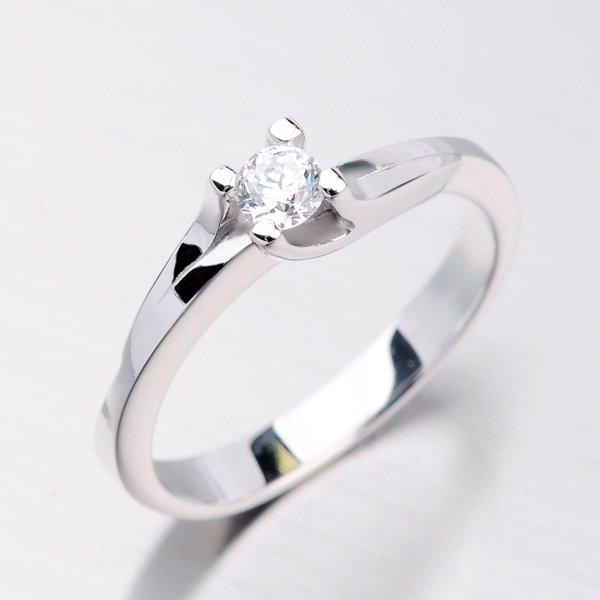 Dámský prsten se zirkonem DZ1854B