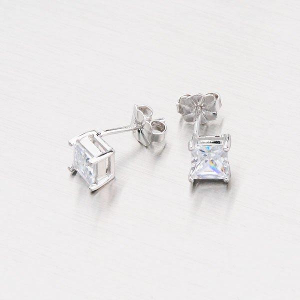 Stříbrné pecky se zirkony YNG2144