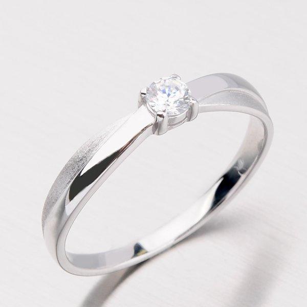 Dámský prsten se zirkony DZ1906B