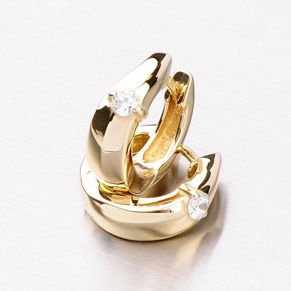 Kroužky ze zlata DZ1722ZL