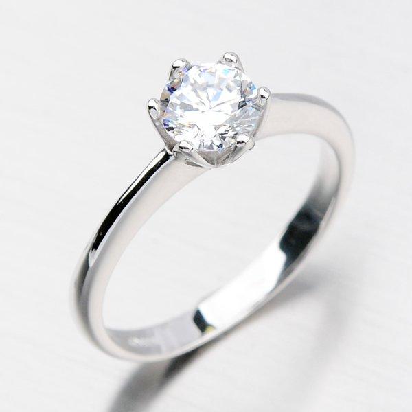 Dámský prsten se zirkony DZ1959B