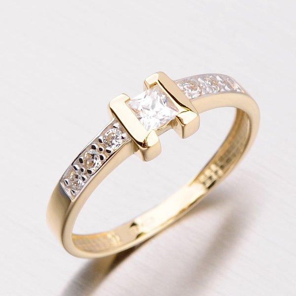 Dámský prsten se zirkony DZ2062ZL