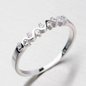 Krásný prsten se zirkony DZ2086B