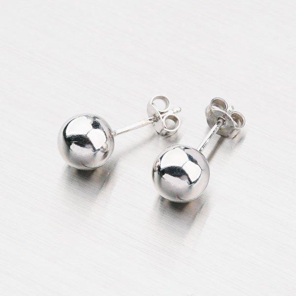 Stříbrné pecky s kuličkou YNG2127