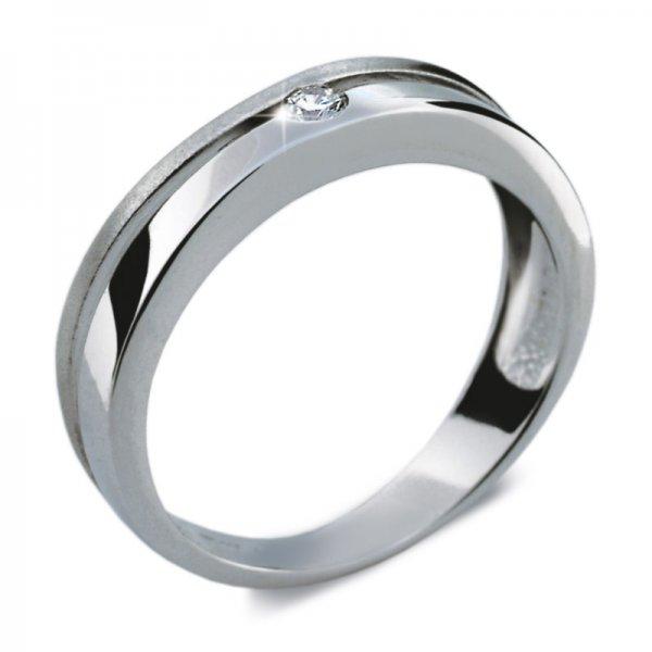Dámský prsten s diamantem DF1710