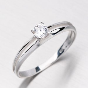 Dámský prsten ze zlata DZ1272B