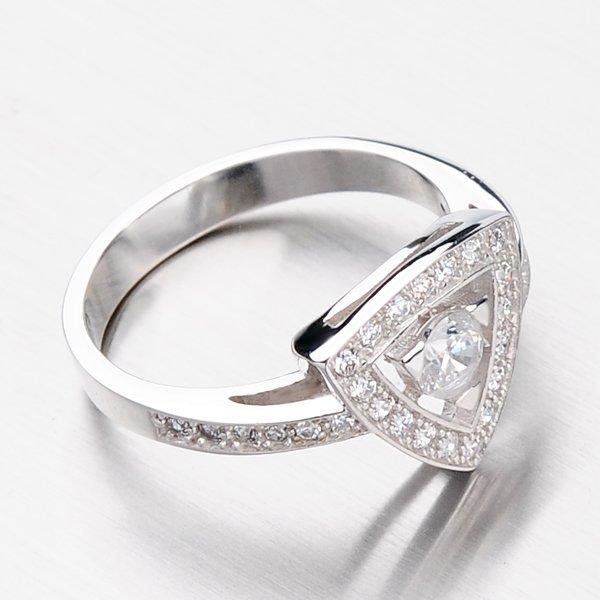 Krásný prsten se zirkony DZ1970B