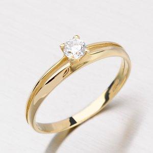 Dámský prsten ze zlata DZ1272ZL