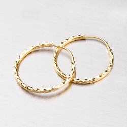 Kruhy zlaté - 23 mm 113-1448