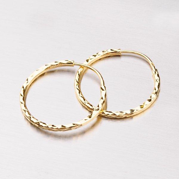Kruhy zlaté - 20 mm 113-1448
