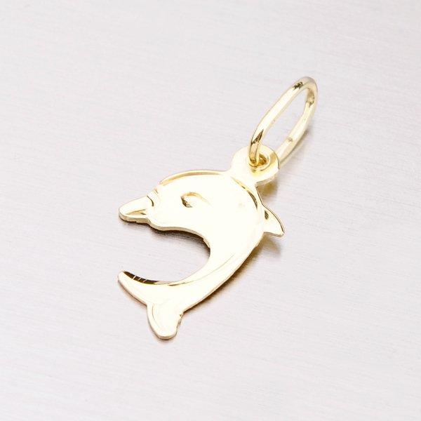 Delfínek ze žlutého zlata 322-1096