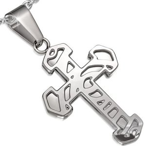 Ocelový kříž GPLY796