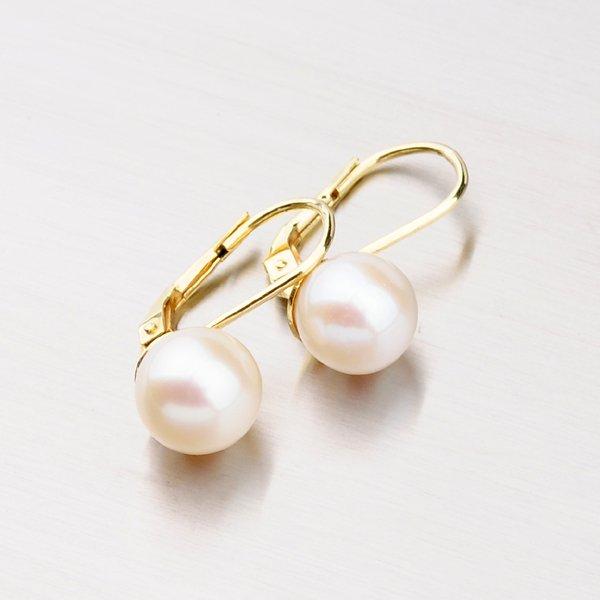Náušnice s perlou 353-0186