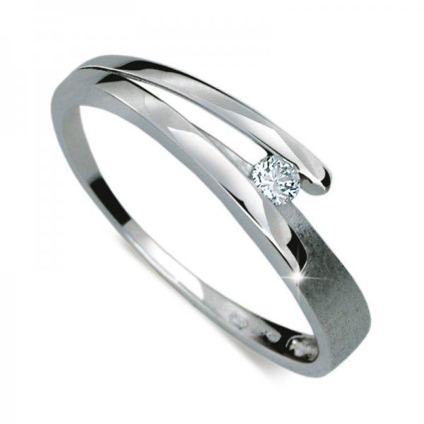 Dámský prsten s diamantem DF1716
