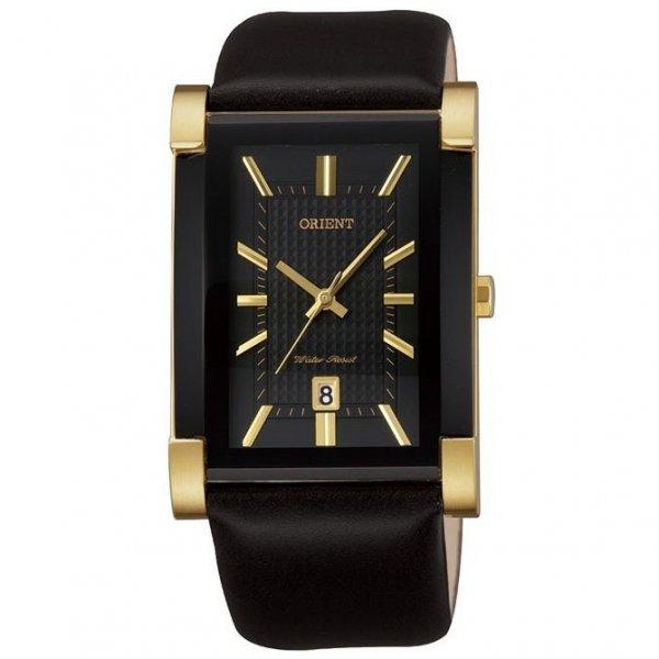 Hranaté elegantní pánské hodinky Orient FUNDJ001B