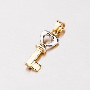 Přívěsek klíčku ze zlata 112-3022