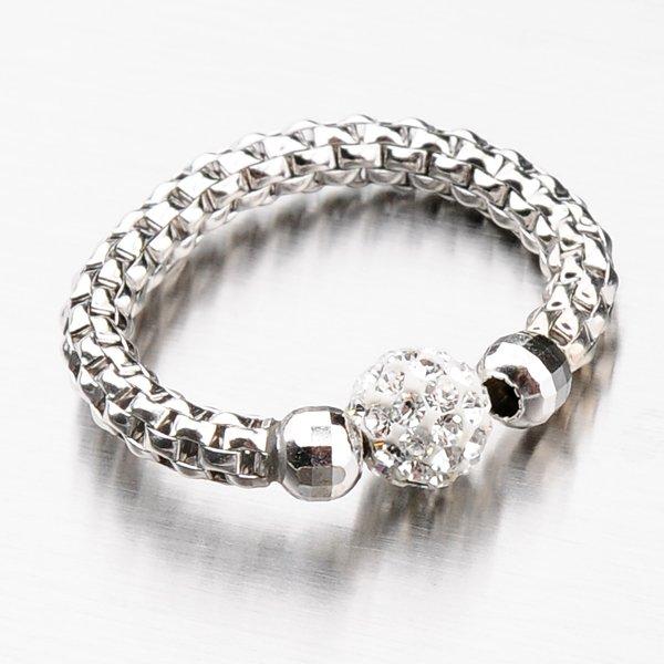 Stříbrný prsten se zirkony 92003043-55-SLX