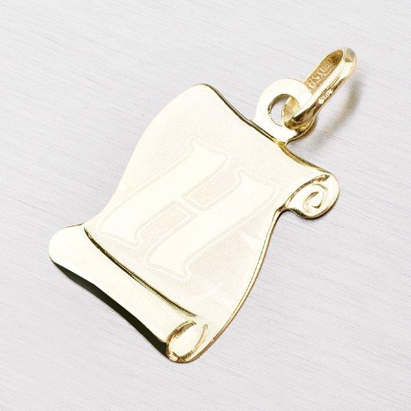 Zlatý pergamen s písmenkem H 43-2065-H