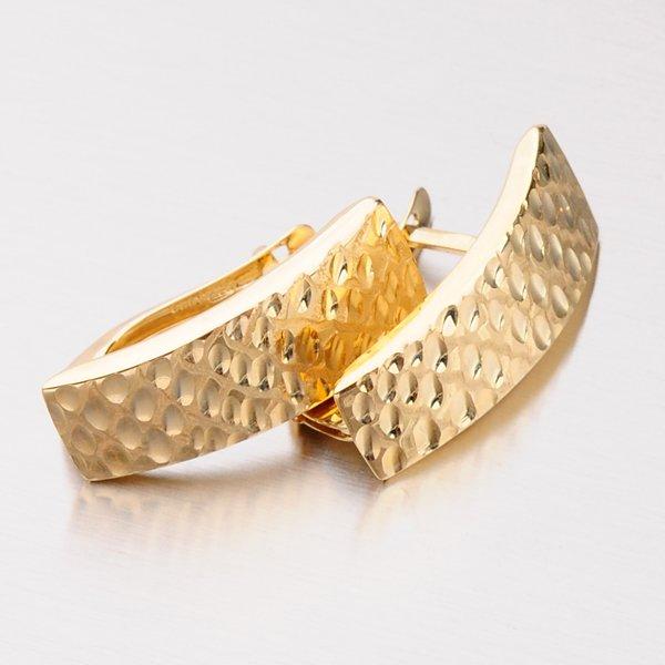 Náušnice ze zlata 143-1209