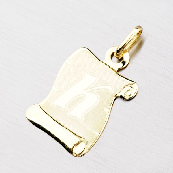 Zlatý pergamen s písmenkem K 43-2065-K