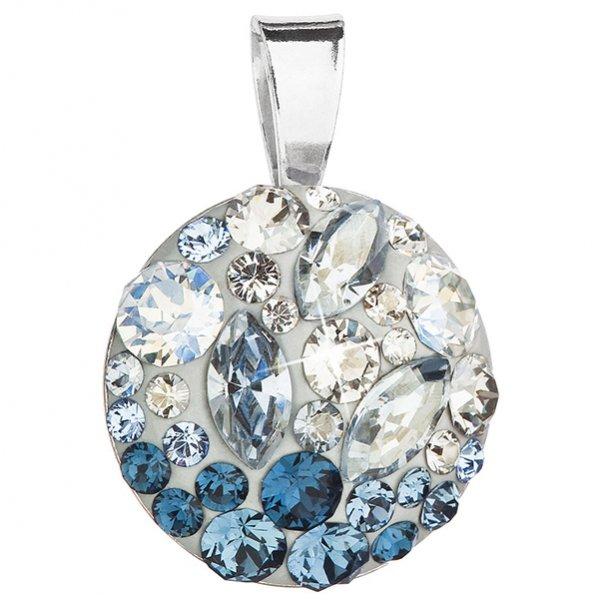 Přívěsek se Swarovski ELEMENTS 34209.3 ICE BLUE