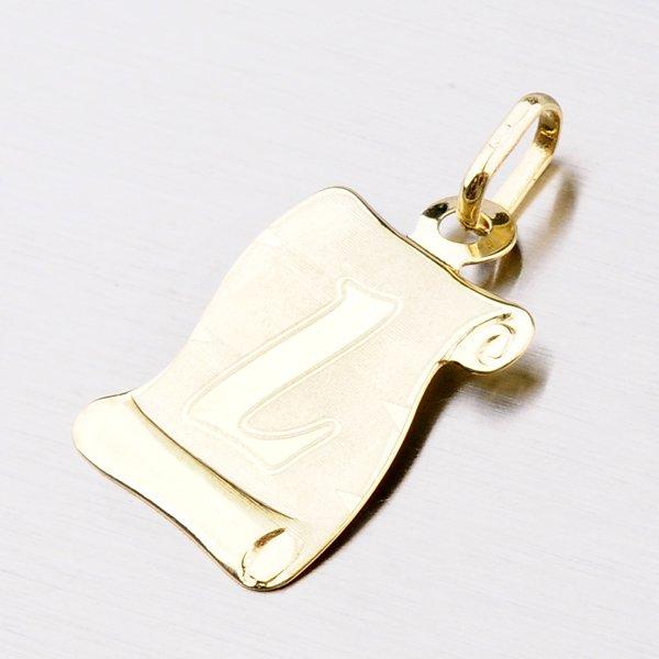 Zlatý pergamen s písmenkem L 43-2065-L