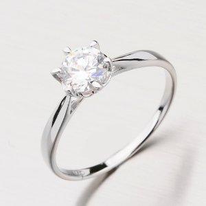 Stříbrný prsten se zirkony RXX01130104