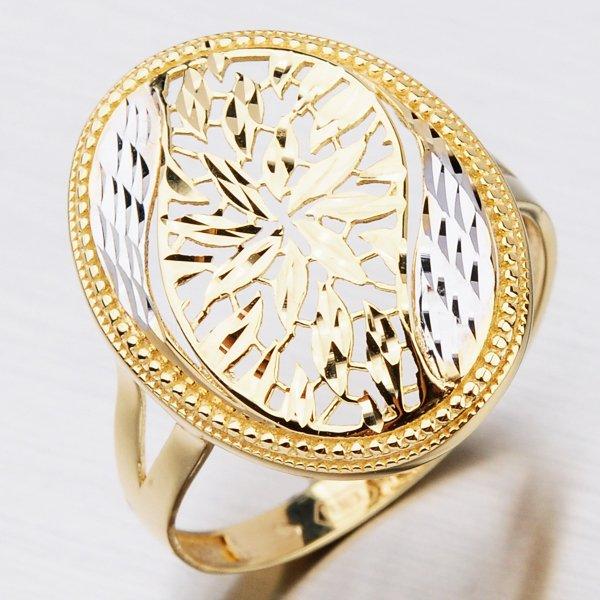 Dámský zlatý prsten 41-NY157