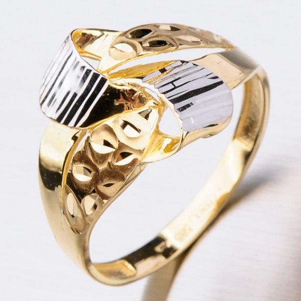 Dámský zlatý prsten 41-NY155