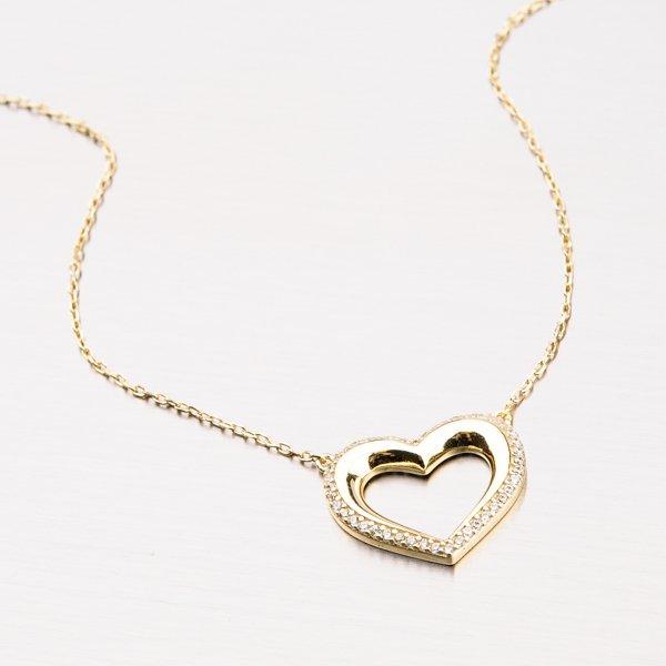 Zlacený náhrdelník ze stříbra PKL-5001