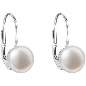 Visací náušnice s říční perlou 21009.1