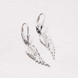 Stříbrné náušnice křídla PKL-2001