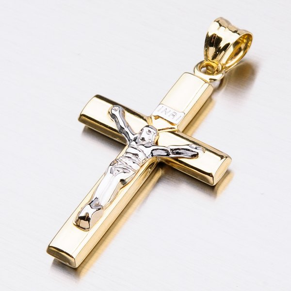 Velký zlatý kříž 13-229