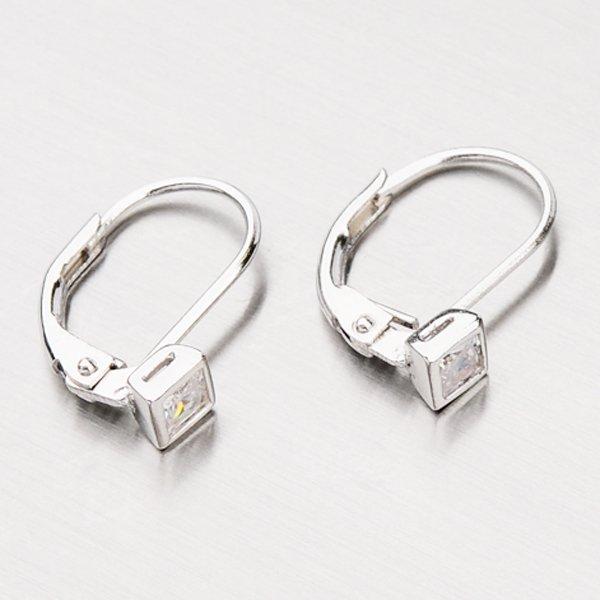 Náušnice ze stříbra GLM12-002