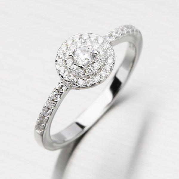 Prsten se zirkony GLM11-003
