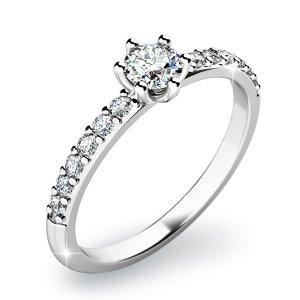 Zásnubní prsten se zirkony ZP-10896