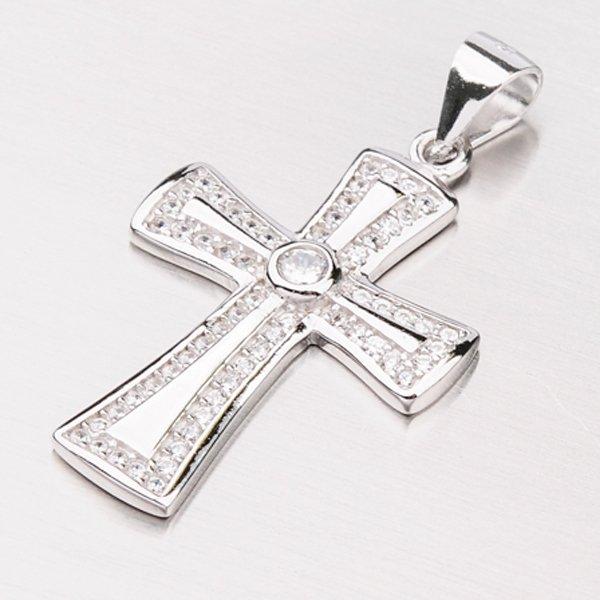 Kříž se zirkony GLM13-004
