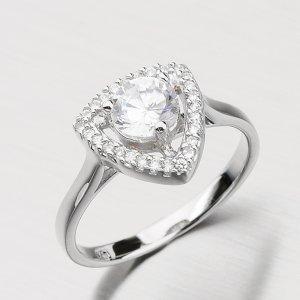 Stříbrný prsten se zirkony RXX02130175