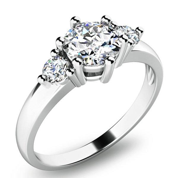 Zásnubní prsten se zirkony ZP-10939