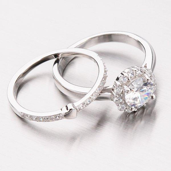 Set stříbrných prstenů GLM11-006
