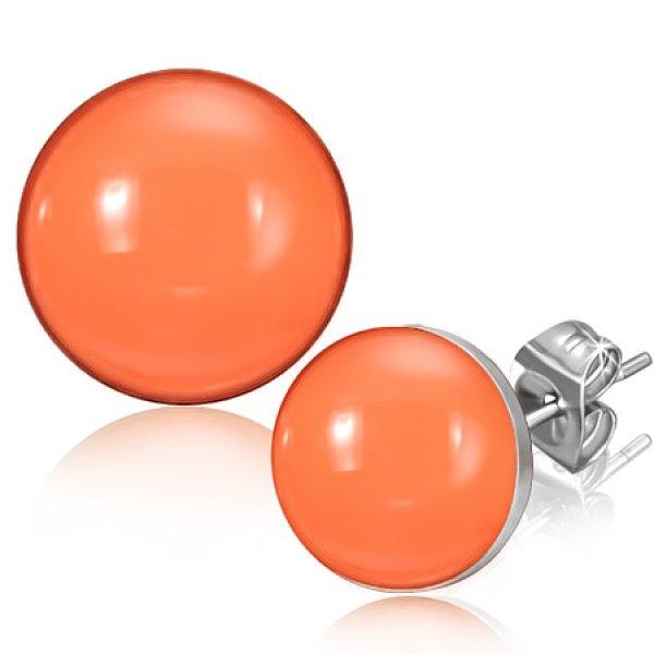 Pecky v oranžové barvě GLEB389