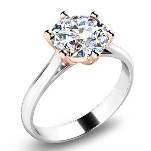 Zásnubní prsten se zirkonem ZP-10700