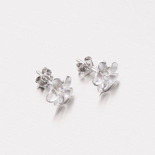 Peckové náušnice ve tvaru květu SXX0119011-02